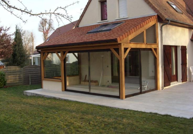 Extension bois maison finest extension maison bton extension maison brique travaux extension for Extension maison ossature bois prix
